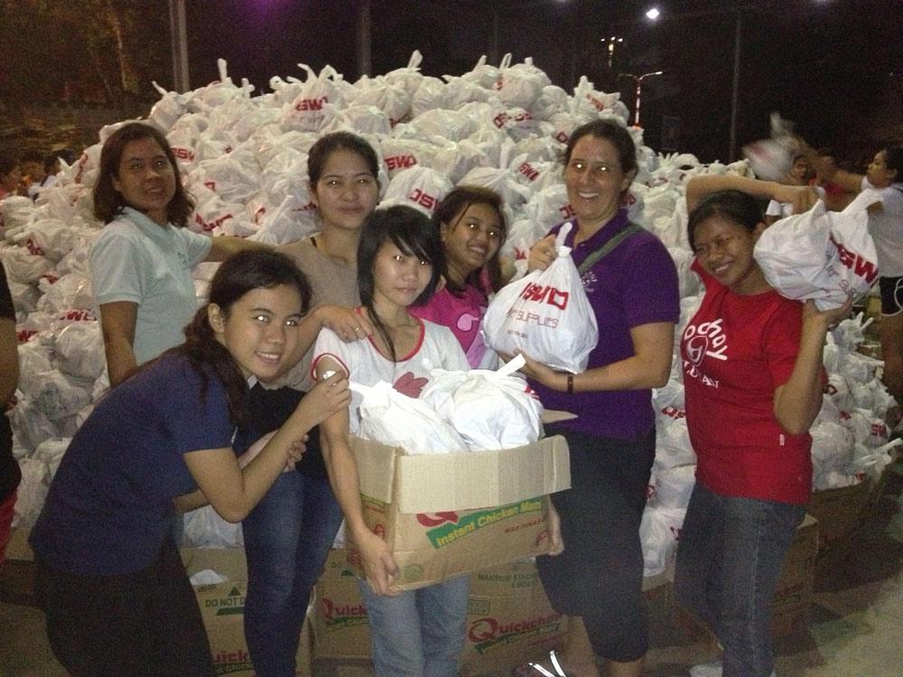 Response to Typhoon Haiyan