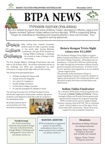 December Newsletters are out!